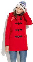 Madewell Toggle coat