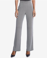 Karen Kane Printed Straight-Leg Pants, a Macy's Exclusive Style