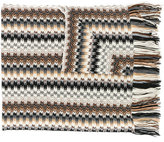 Missoni fringed knitted scarf - women - Acrylic/Viscose/Wool/Polyimide - One Size