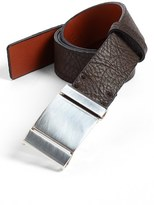 Bosca Men's Leather Belt