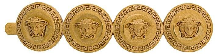 Thumbnail for your product : Versace Medusa coin hair clip