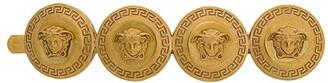 Versace Medusa coin hair clip