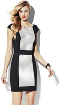 Vince Camuto Fitted Dress With Contrast
