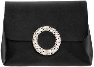 Nina Livia Pave Circle Embellished Clutch
