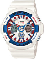 G-Shock Men's Analog-Digital White Resin Strap Watch 55x51mm GA120TR-7A