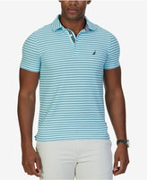 Nautica Men's Slim-Fit Striped Performance Deck Polo