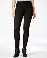 Tinseltown Juniors' 2-Button High-Waist Skinny Jeans
