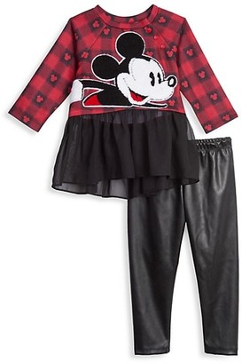 Disney x Pippa & Julie Baby's & Little Girl's Disney x Pastourelle By Pippa & Julie 2-Piece Dress and Leggings Set