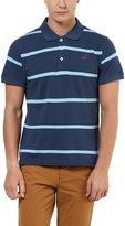 American Crew Men's Polo Stripes T-Shirt - L (AC10-L)