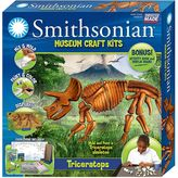 Skullduggery Smithsonian Museum Triceratops Craft Kit