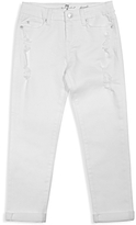7 For All Mankind Girls' Josefina Distressed Boyfriend Jeans - Big Kid