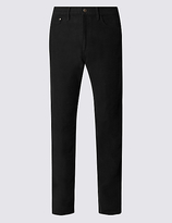 M&S Collection Big & Tall Regular Fit Moleskin Trousers