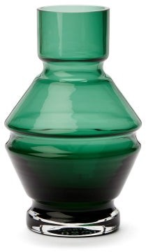 Raawii - Relae Small Glass Vase - Green