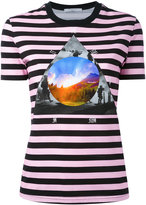 Givenchy stripe 'Full Moon' T-shirt - women - Cotton - S