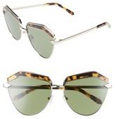 Karen Walker Women's Jacinto 61Mm Sunglasses - Gold/ Crazy Tortoise