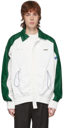 ADER error White and Green Tort.og Jacket