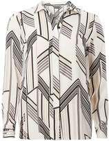 Ivory Stripe Longsleeve Shirt