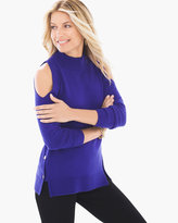 Chico's Cindy Hardware-Detail Pullover in Purple Twilight