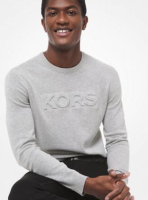 Michael Kors Logo Cotton Sweater