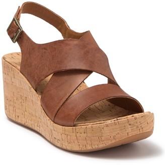 KORKS Adela Platform Wedge Sandal