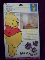 Disney Winnie the Pooh Bee a Friend Stencil & Stamp Set for Nursery Child Room Decor Walls Furniture