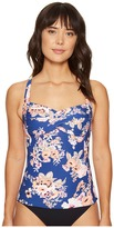 Seafolly Vintage Wildflower Twist Halter Singlet Top Women's Swimwear