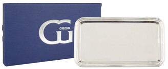Greggio Silver Plated Georgian Rectangular Tray (18Cm X 31Cm)