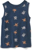 Old Navy Printed Muscle Tank for Toddler Boys