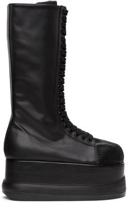 Sunnei Black Dreamy Platform Boots