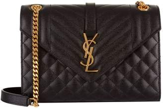 Saint Laurent Medium Monogram Envelope Shoulder Bag