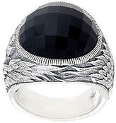 Scott Kay Black Onyx Guardian Angel Ring