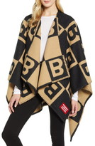 Burberry Logo Letter Wool & Cashmere Cape