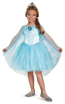 BuySeasons Disney Toddler Elsa Prestige Tutu Blue - 3T-4T