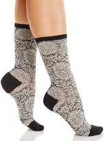 Natori Fields of Chi Crew Socks