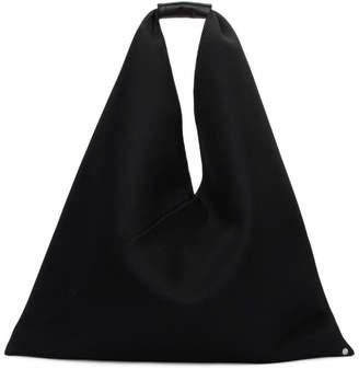 MM6 MAISON MARGIELA Black Mesh Large Triangle Tote