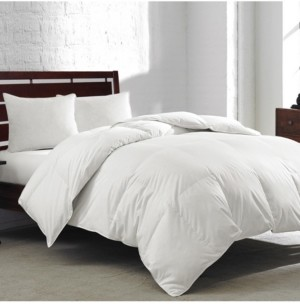Royal Luxe White Goose Feather & Down 240-Thread Count King Comforter
