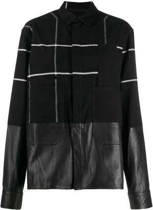 Haider Ackermann Checked Military Shirt