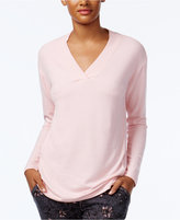 Alfani V-Neck Pajama Top, Only at Macy's