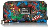 Loungefly Marvel Character Aop Wallet