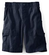 Classic Boys Pull-on Cargo Shorts Navy Stripe