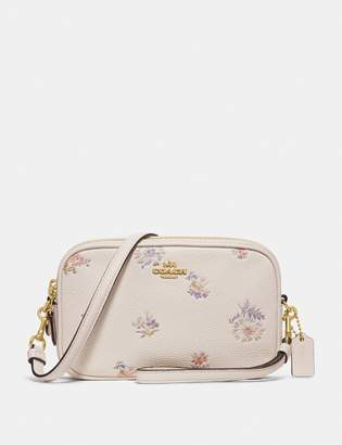 Coach Sadie Crossbody Clutch With Meadow Prairie Print