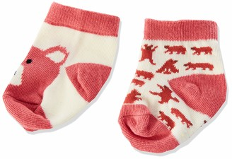 Hatley Little Blue House by Baby Girls' 2-Pack Crew Socks Casual