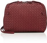 Bottega Veneta Women's Intrecciato Double Messenger Bag-BURGUNDY