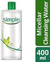 Simple Kind To Skin Micellar Cleansing Water 400ml