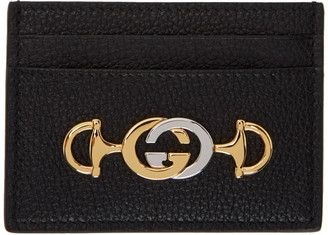 Gucci Black Zumi Card Holder