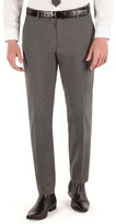 Thomas Nash Grey Semi Plain Tailored Fit Suit Trouser
