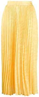 Andamane Pleated Midi Skirt