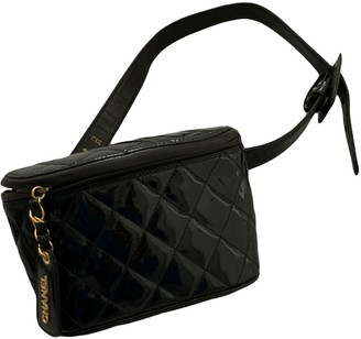 Chanel Black Patent leather Clutch bags