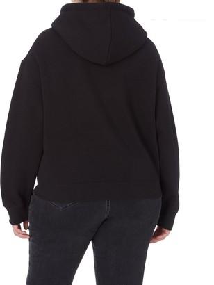 Calvin Klein Jeans Plus Ck Eco Hoodie - Black