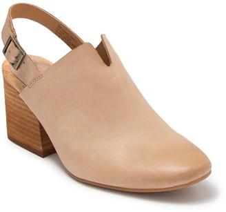 KORKS Rayleigh Block Heel Leather Mule